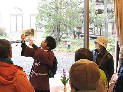 横溝正史ゆかりの地・諏訪でツアー 「犬神家」モデルの建物も