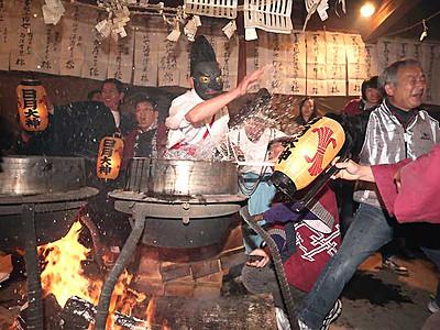 遠山の霜月祭り始まる 飯田の小学生も伝統継承