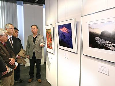 自然の美、写真で伝え 金沢で北國写連会員3人展