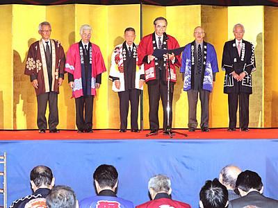囃子高らか 3文化遺産登録祝う 高岡で連携誓う