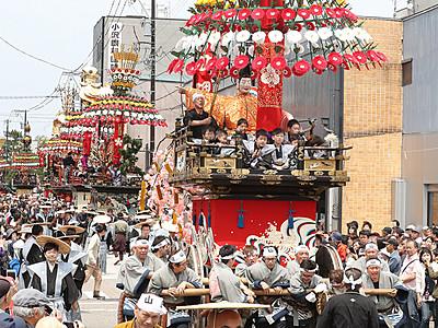 御車山祭の来年5月1日は休校 高岡市小中学校
