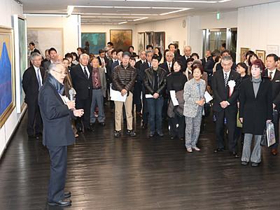 日本画の「院展富山展」が開幕