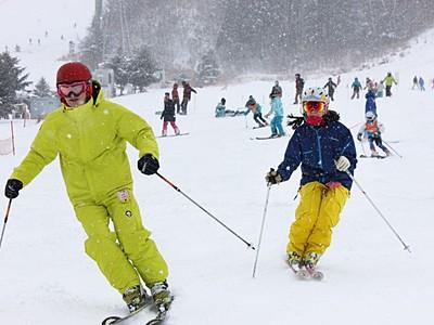 待ちに待った初滑り 湯沢・苗場スキー場オープン