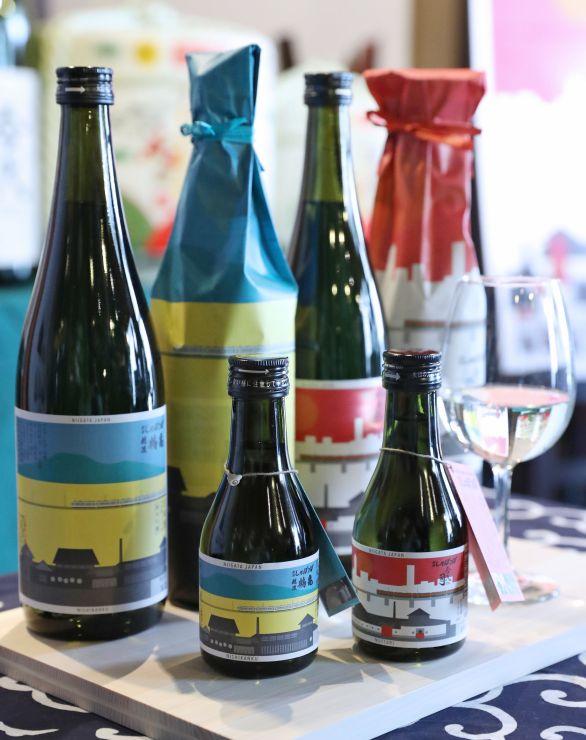 JR新潟ファームが生産した酒米で仕込んだ日本酒「新潟しゅぽっぽ」