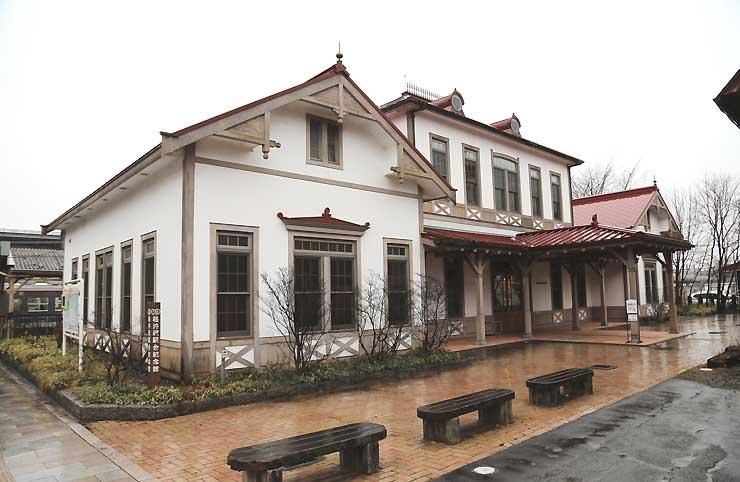 しなの鉄道が活用を構想している軽井沢町の「(旧)軽井沢駅舎記念館」