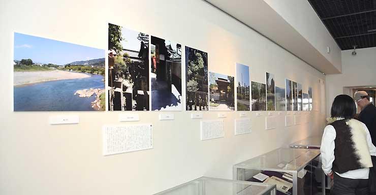 真田庵など「真田太平記」の舞台を紹介する写真展