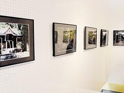 神社や城パチリ、学生の感性光る 福井県立歴博で写真展