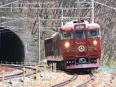 「ろくもん」ワイン列車 4月から定期運行へ