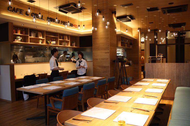 JA全農県本部が16日にオープンするカフェ&グリルみのりみのる新潟店=新潟市中央区