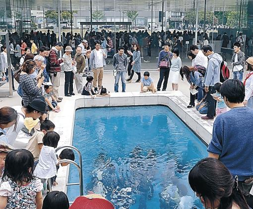 入館2千万人を突破した金沢21世紀美術館