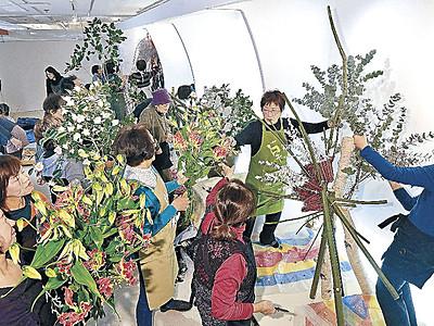 伝統の舞台に新たな挑戦 北國花展14日開幕