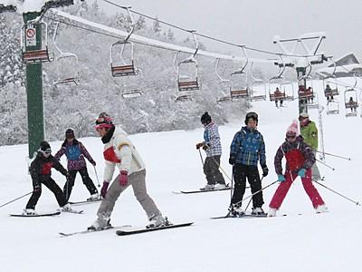 お待たせ!下越のスキー場、すべてオープン