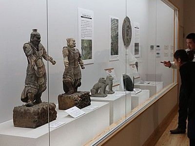 中世荘園権勢を実感 胎内市美術館「奥山荘の至宝展」
