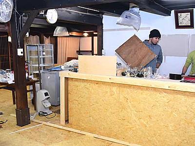 海野宿に仕事・交流の場を 東御の築130年空き家改修