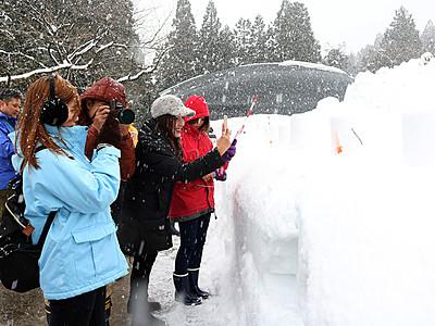冬の立山観光いかが タイの旅行業者招く