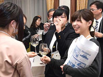語らい味わう東北信ワイン 千曲のイベントに120人