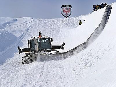 南魚沼のスキー場にハーフパイプ モンスター いざ挑戦を