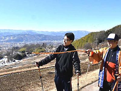 歩いて眺めて「稲倉の棚田」 上田のホテル、ツアー企画