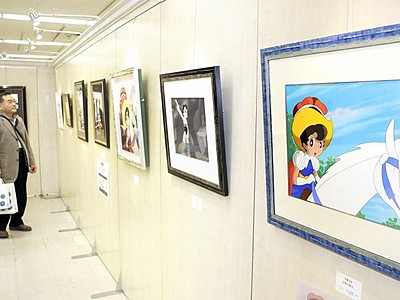 手塚キャラ版画で紹介 アトムやリボンの騎士、西武福井店