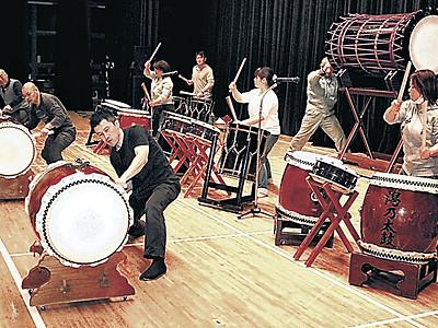 勇壮な演奏に磨き 鶴来できょう「石川の太鼓」