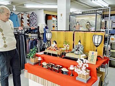 ひな人形100軒に展示 高浜でまつり開幕