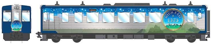 「HIGH RAIL 1375」のデザイン