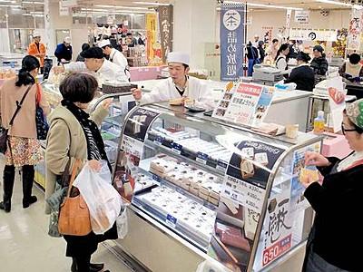 全国信金お薦めグルメ一堂  西武福井店でフェスタ始まる