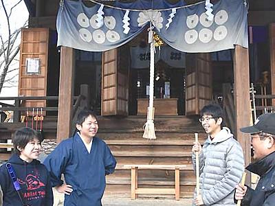 真田神社、もっと知って 上田・真田町拠点にPR