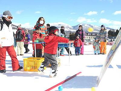 「雪の日」遊んだ、考えた 長野県内スキー場と都内