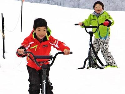 雪遊びもっと好きに 十日町・松之山温泉スキー場