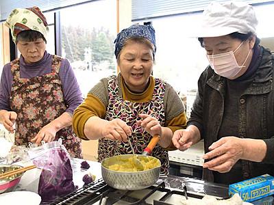 スイーツ増やし「一日食堂」 郷土料理で生坂PRへ