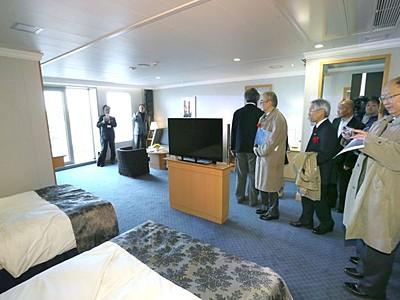 新潟-小樽間 新造船が就航 新日本海フェリー