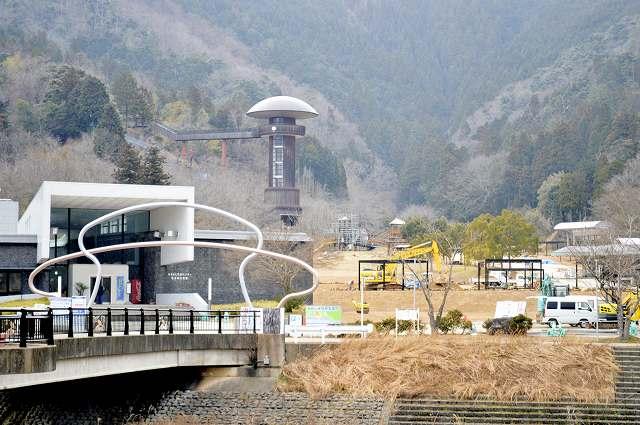 4月中旬にリニューアルオープンする「きのこの森」=福井県おおい町鹿野