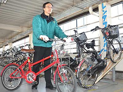 上田巡り、自転車で 要望受け開始2週間前倒し