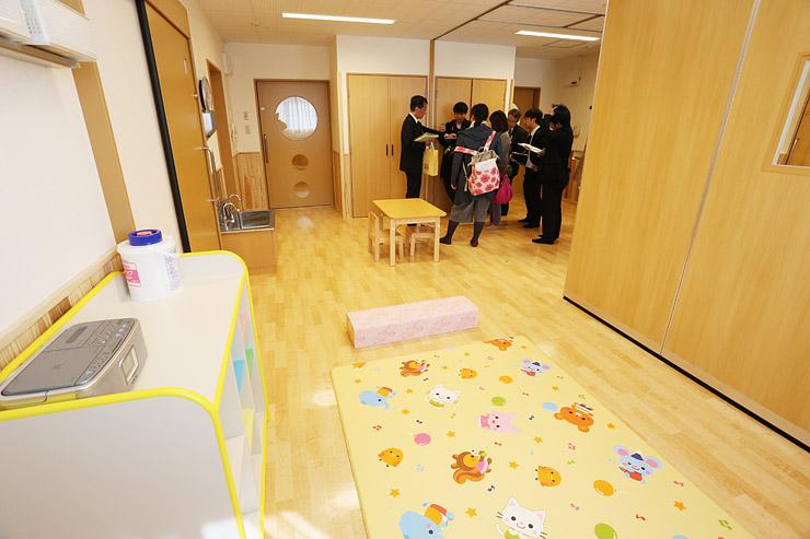 富山市まちなか総合ケアセンターの病児保育室