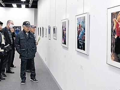 うるわし写真講座会員の作品展示 白山