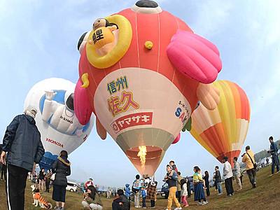 5月3~5日「佐久バルーンフェス」 熱気球大会など開催