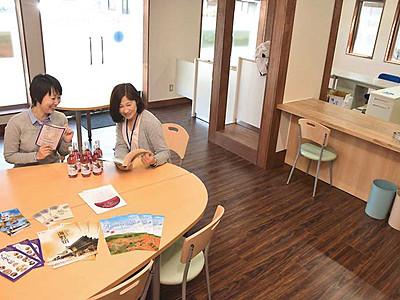 東御の観光拠点、田中駅に 案内所と交流の場5日開設