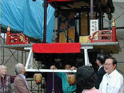 歌舞伎山15年ぶり復活 石動曳山祭に中下飯田鍛治町