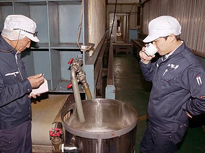 糸魚川大火で全焼の酒蔵 黒部で新酒造り