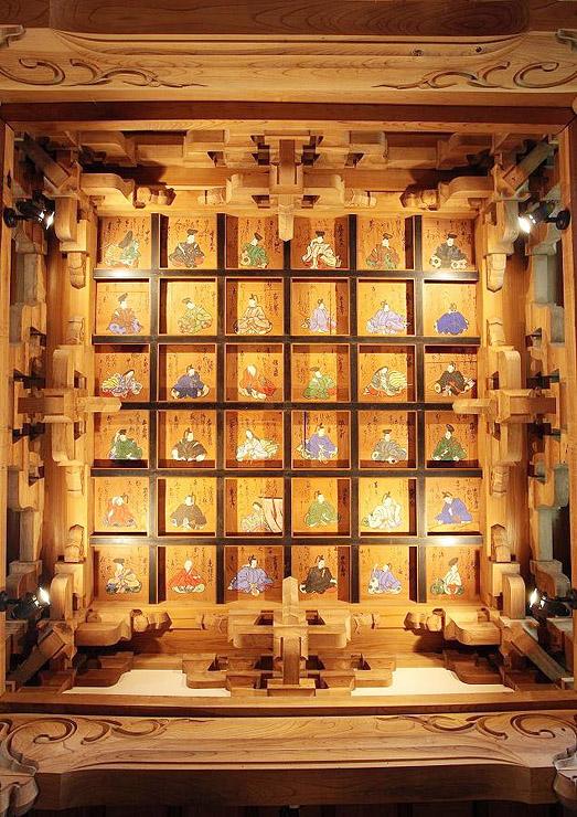 江戸時代に描かれたとされる全龍寺の天井画