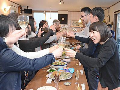 高山村の初醸造ワイン発売