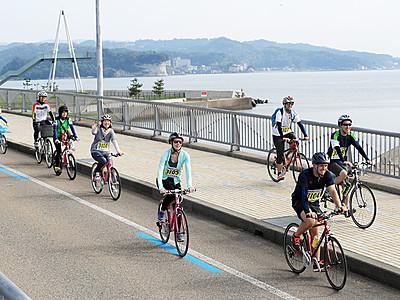 富山湾岸サイクリングに台湾から40人参加へ