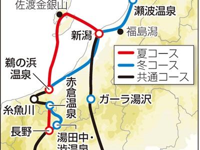 佐渡、糸魚川周遊 自然や食楽しむ訪日客向けモデルコース