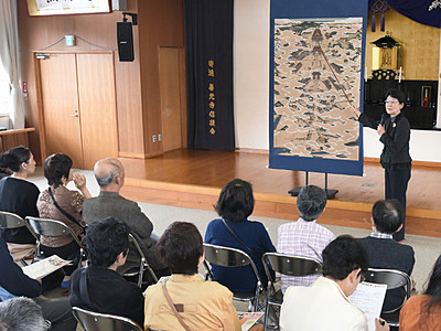 「絵解き」文化に関心を 善光寺などで一斉開催