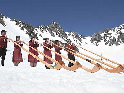 信州、山シーズン開幕 県内各地で開山祭