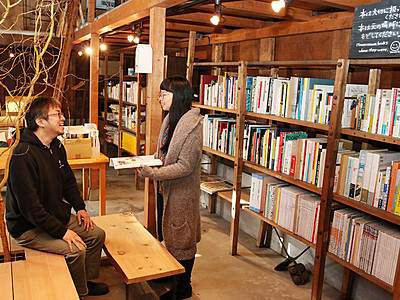 土蔵に図書室を開設 高岡・ものづくり体験施設