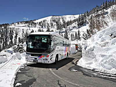 乗鞍高原「春山バス」運行始まる