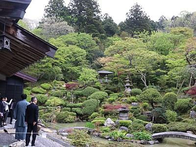 「庭園の道」さあ巡ろう 新潟県内国道290号沿線