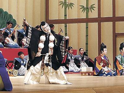 勧進帳熱演「いよっ」 小松で子供歌舞伎フェス開幕